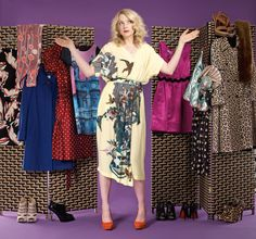 In the shifting world of fashion, we all need someone to lean on. So here, our fabulous new columnist explains why what we wear matters Lauren Laverne, We Wear, How To Wear, Zooey Deschanel, Dress For Success, World Of Fashion, Sequin Skirt, Kimono Top, Dress Up
