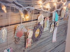 Homespun Hanging Tags/Decor | Marie Lottermoser for Crate Paper