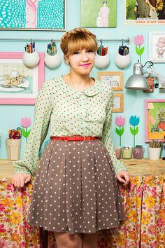 Tour Style Blogger Kate Gabrielles Super Cute Home