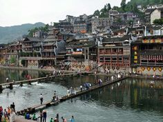 Fenghuang Old Town Scenery
