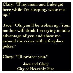 Jace to Clary