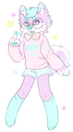 my fursona ! ! !! by kingkimochi.deviantart.com on @DeviantArt