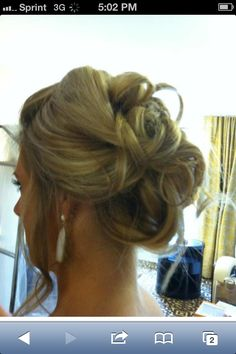 Another up do I did for the same wedding