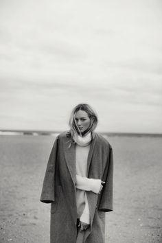 Wool coat + turtleneck | Justin Chung | VSCO