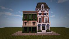 Eingebettetes Bild - Minecraft World Modern Minecraft Houses, Minecraft City Buildings, Minecraft Structures, Minecraft Cottage, Minecraft Castle, Minecraft Houses Blueprints, Minecraft Plans, Minecraft House Designs, Minecraft Architecture