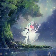 Princess Chibiusa and Helios - Sailor Moon