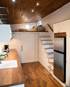 Below is a collection of tiny house design ideas from the wider community. The source of each image is noted. This idea book focuses on Stairs. Bookmark this page, we'll continue adding new i…