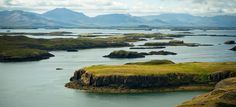 """The islands in the Breiða Fjord are one out of three """"countless"""" things in Iceland"""