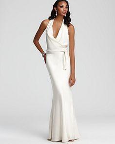 Nicole Miller - great dress for a modern bride
