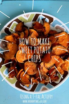 It is beyond easy to make sweet potato chips in the T-Fal Actifry. It's a bit of a joke that it is so easy to make something so darn delicious. I love my T-Fal Actifry but only use it for homemade potato chips, wings and...