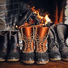 snow shoes... boots... #WinterWonderFun @French Pascucci Czachor Pascucci Czachor Toast