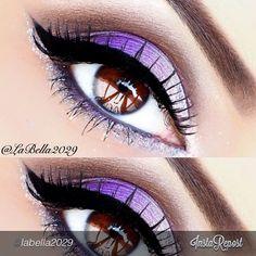 by #labella2029   Eyeshadow: Fantasy • Bling • Creme Fresh • Cinnamon Spice • by #motivescosmetics