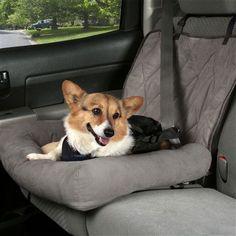 Car Cuddler Bolster Pet Seat Cover