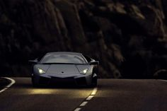 Black Lamborghini Reventon