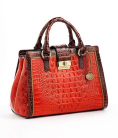 Brahmin Totes and shopper bags for Women Leather Keychain, Leather Pouch, Leather Purses, Leather Handbags, Red Leather, Brahmin Bags, Billfold Wallet, Leather Accessories, Clutch Purse