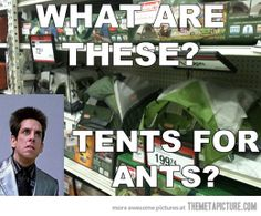 Every time I visit the tents aisle…