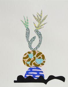 Exquisite Plant Collages : Adam Frezza & Terri Chiao