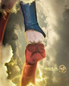 Supergirl. The Flash. ❤️❤️