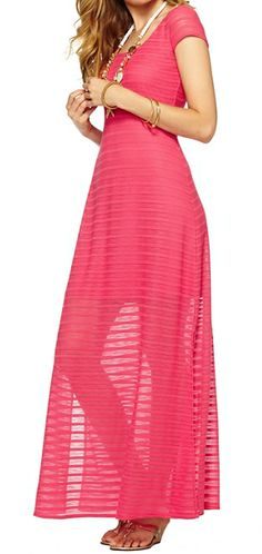Lilly Pulitzer Ramsay Side Slit Maxi Dress