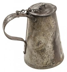 Colonial Iron Tavern Tankard (1775)