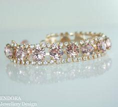 Swarovski braceletblush braceletblush crystal by EndoraJewellery