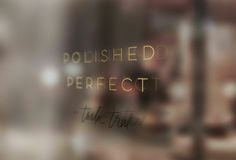 Welcome to Polished Perfect