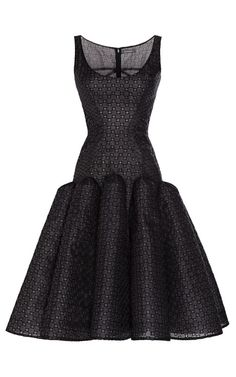 Shop Embroidered Organza Party Dress by Zac Posen for Preorder on Moda Operandi