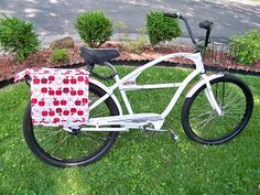 Salty Peanut Stitchery: Bicycle Panniers Tutorial