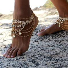Stevie Anklets - Gold                                                                                                                                                                                 More