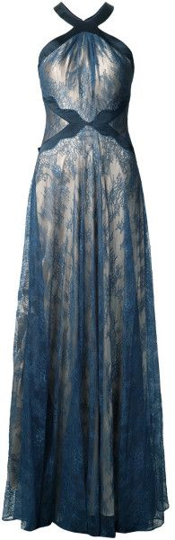 Catherine Deane Lace Halter Gown - Lyst   jaglady