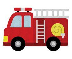 Fireman Quilt, Fireman Sam Cake, Fire Truck Cupcakes, Fire Truck Drawing, Preschool Crafts, Crafts For Kids, Fireman Birthday, Eid Cards, Construction Birthday