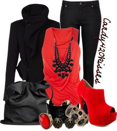 """sexy lil vixen"" by candy420kisses on Polyvore"