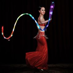 Light up accessories can be a great choice if you want some shiny detail for your dance costume.
