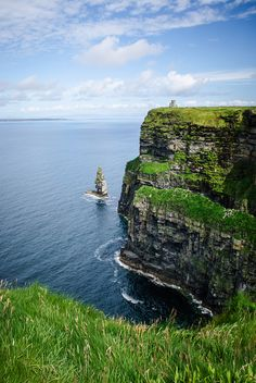 Cliffs of Moher, Ireland: very cool!  I have the pic on my own camera!