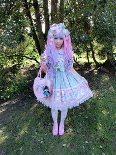 Angelic Pretty ♡ ♥ ロリータ, Sweet Lolita, Lolita, Loli, Fairy Kei, Pastel, Rococo, Victorian ♥ ♡