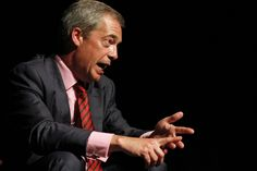 Nigel Farage......he will get you going in one direction or the other. A Clive Conway speaker. Buxton Opera House.