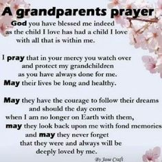Inspirational Quotes About Grandchildren - Bing images Prayer For My Family, Prayer For My Children, Parents Prayer, Faith Prayer, My Prayer, Prayer Board, Family Quotes, Life Quotes, Quotes About Grandchildren