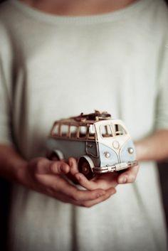 VW van toy (So Cute) Good family memories in the VW Van !