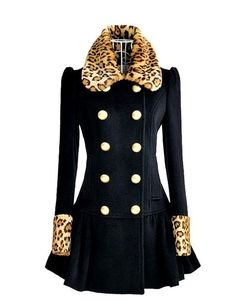 Latest Wool coat British style -Trench Coats   Trench Coats_BT (Dark,Blue)