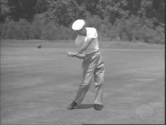 Beautiful !  One of the basic tenets of the swing from the Master -  one of the first principles I learned and still follow today - a legend and a classic Thank you Mr Hogan !