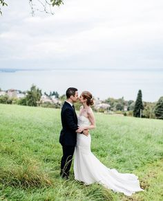 Amy and Manuel's fairytale elopement is all the things we love here at KAREN WILLIS HOLMES. Elegant, romantic and personal this wedding is a perfect example of how sometimes the smaller the event, the more special it can be. Surrounded by their 10 nearest and dearest, these two lovebirds from different continents said their vows at the breathtaking Wasserschloss Hagenwil castle, in Switzerland. ** see more on our facebook ** . Gown: 'Tulip' @kwhbridal from @karenwillisholmes_melbourne • 📷…