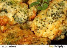 Brokolice v sýrovém těstíčku recept - TopRecepty.cz Cauliflower, Treats, Chicken, Vegetables, Food, Sweet Like Candy, Goodies, Cauliflowers, Essen