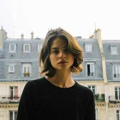 Frisuren french short haircuts 2014 6 Steps to Super Sleek Stylish Hair Whether you want to look gre Short Curly Hair, Short Hair Cuts, Curly Hair Styles, Short Hair For Round Face, Pixie Styles, Thick Hair, Hair Day, New Hair, Short Haircuts 2014