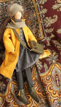 Куклы Тильды ручной работы. Ярмарка Мастеров - ручная работа Тёплая осень. Handmade.