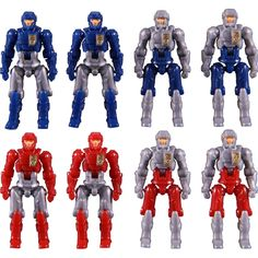 #transformer Diaclone Reboot - DA-04-3 Dia-Naughts Set of 8 (Ver.3) Exclusive