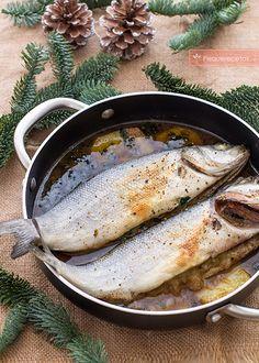 Esta receta de lubina al horno no sólo es fácil de preparar, es una receta para grandes ocasiones, para tenerla guardada en un cajón y utilizarla siempre q