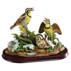 Bird Figurines | Back to Andrea by Sadek Porcelain Bird Figurines