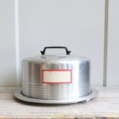 Vintage Cake Carrier by ethanollie on Etsy