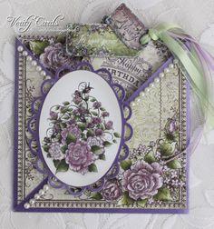 criss-cross pocket card by Liz Walker