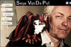 Serge Van De Put, kunstenaar uit Berchem die dieren maakt uit autobanden